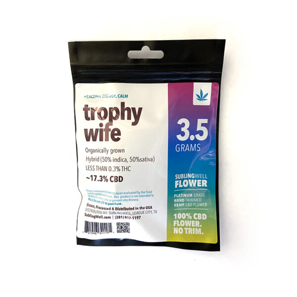 CBD Flower Trophy Wife
