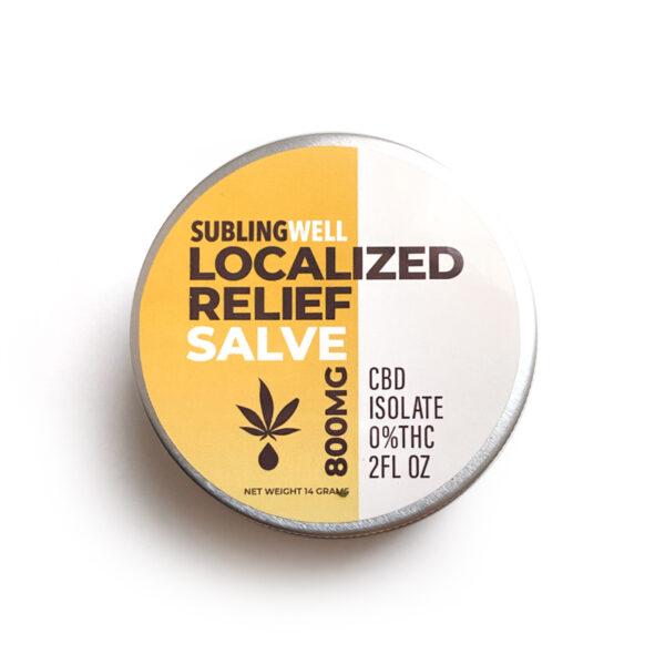 CBD Localized Relief Salve